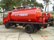 tanker truck tangki