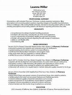 professional pharmacy technician templates to showcase