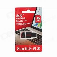 sandisk cruzer switch 16gb usb flash black free shipping dealextreme