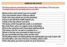 jumbled sentences worksheets for grade 1