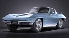 Chevrolet Corvette C2 3d Model