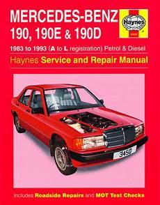 service and repair manuals 1993 mercedes benz 190e engine control haynes manual mercedes 190 190e 190d petrol diesel 83 93