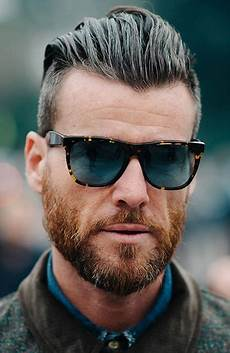 slicked back hairstyles with widow s peak undercut hairstyles beard haircut undercut with beard