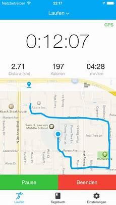 fitapp lauf app walken radfahren