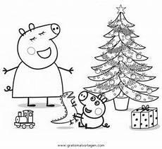 Peppa Wutz Ausmalbilder Weihnachten Peppa Wutz 39 Gratis Malvorlage In Comic