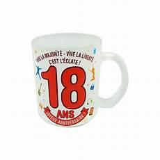 idée cadeau 18 ans mug 18 ans effet givr 233