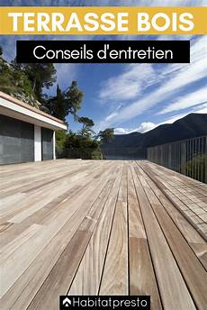 comment entretenir une terrasse bois 4 conseils