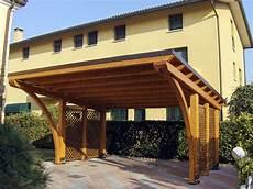 tettoie in legno per auto tettoia copertura auto in legno r02207