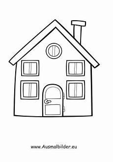 Ausmalbilder Haus Mit Baum Ausmalbild Einfaches Haus Haus Zeichnung Ausmalbild