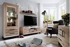 Moderne Massivholzmöbel In Eiche - echtholz wohnzimmer eiche sand vo7 massivholz m 246 bel in