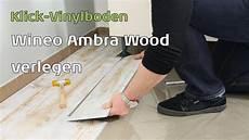 ambra wood wineo klick vinylboden