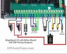 gm dis wiring diagram gm dis megasquirt ii wiring diagram