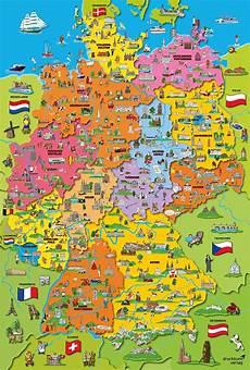 Kinder Malvorlagen Deutschlandkarte Map Of Germany Jigsaw Puzzle Puzzlewarehouse