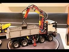 new lego 42043 mercedes arocs 3245 motorized