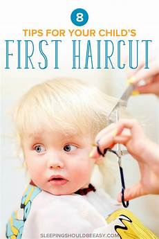 child s first haircut at a salon 8 tips for parents to