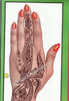 84 Contoh Gambar Henna Tangan Yang Simple Terbaru Tuttohenna