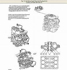 i need a spark plug wiring diagram from the distributor cap to the plug for a 2000 f 150xl 4