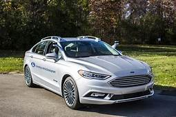 Fords New Autonomous Fusion Looks Freakishly Normal  The