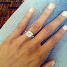 thin band engagement ring weddingbee