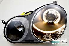 eye scheinwerfer vw polo 9n 02 04 black tuning