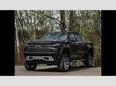 2019 Custom Lifted Chevrolet Silverado 1500 High Country