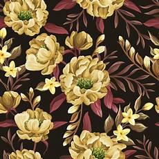 modèle de jardin fleuri papier peint sans joint floral illustration de vecteur