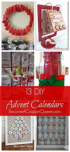 13 Do It Yourself Advent Calendars