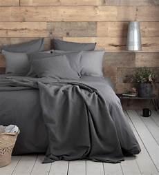 charcoal 100 cotton bed linen secret linen store