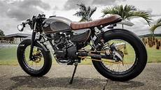Modif Cafe Racer by Galeri Modifikasi Kawasaki W175 Ala Scrambler Dan Cafe