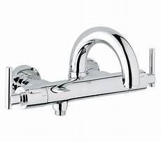 Grohe Mischbatterie Dusche - grohe spa atrio jota thermostatic bath shower mixer tap