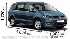 Vw Touran 2017 Abmessungen - dimensions of volkswagen cars showing length width and height