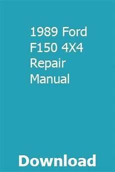 car service manuals pdf 1989 ford ranger security system 1989 ford f150 4x4 repair manual repair manuals chilton repair manual ford ranger