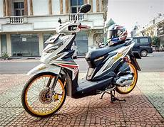 Striping Beat 2018 Modifikasi by Modifikasi Honda Beat Paling Keren Terbaru 2019 Otomaniac