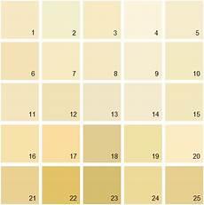 benjamin yellow house paint colors palette 02