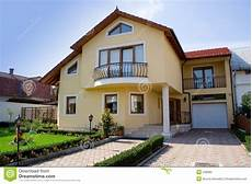 small villa stock image image of property rezidential