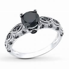 black diamond ring 1 1 4 carats tw 10k white gold 99111180299