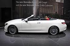 Mercedes E Klasse Cabrio 2017 Test Bilder Autobild De