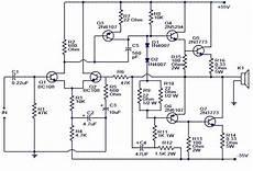 100w subwoofer lifier circuit audio wiring diagram