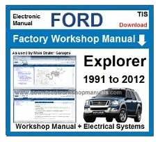 how to download repair manuals 2011 ford explorer parental controls ford workshop manuals