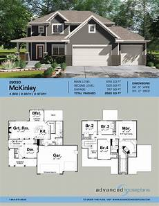mckinley 2 story traditional house plan southern house