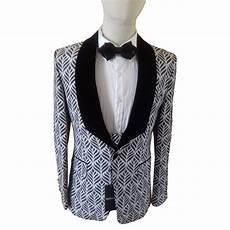 Costume De C 233 R 233 Monie Homme 3 Pi 232 Ces Noir Et Blanc Igor