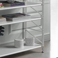 scaffale in acciaio socrate 151 libreria scaffale per soggiorno in acciaio