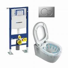 toilette suspendu grohe pack wc complet suspendu b 226 ti support geberit achat