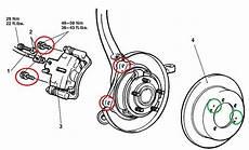 2001 Mitsubishi Eclipse Brake Replacement System Diagram