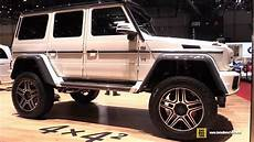 Mercedes G 4x4 - 2016 mercedes g class g500 4x4 squared exterior and