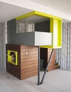 Zweite Ebene Kinderzimmer Bauen Design Tapeten Birkenb 228 Ume