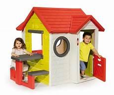 jeux exterieur smoby maison my house table pique nique maisons plein air