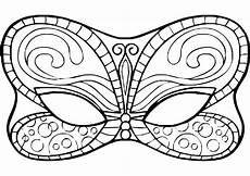 Malvorlage Karneval Maske Malvorlagen Karneval 05 Ausmalbilder