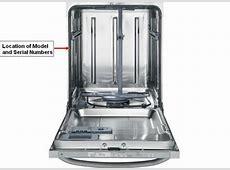 Find GE Dishwasher service manual by model number