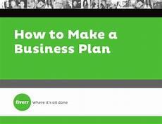 How To Make A Business How To Make A Business Plan